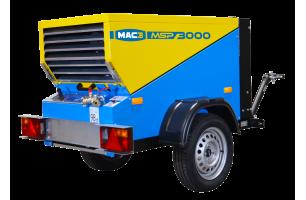 Compresseurs mobiles de chantier sur essieu de la marque MAC3